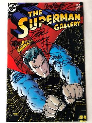 SUPERMAN GALLERY 1 Signed SIENKIEWICZ JURGENS STERANKO SIMONSON ORDWAY VF NM COA
