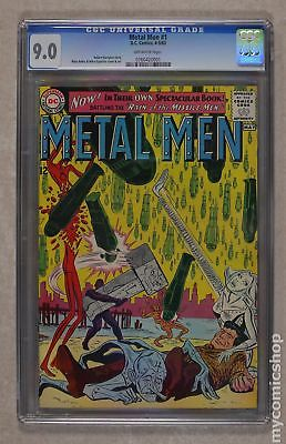 Metal Men (1st Series) #1 1963 CGC 9.0 0760420001
