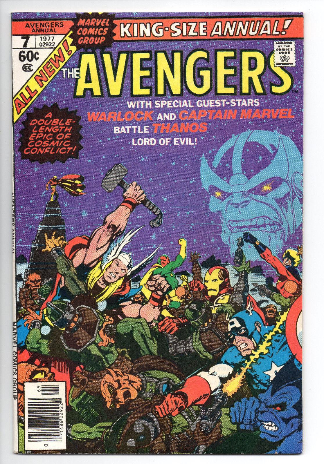 Avengers Annual #7 NM- / 9.2 - Avengers vs. Thanos - Avengers Movie 4/27