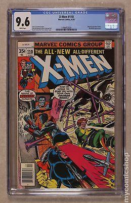 Uncanny X-Men (1st Series) #110 1978 CGC 9.6 1396852020