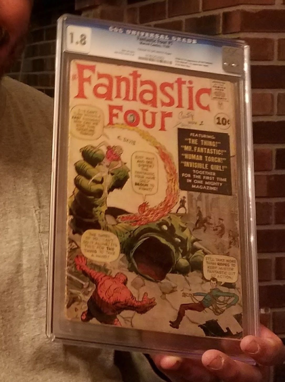 Fantastic Four #1 (Nov 1961, Marvel) The big one- A true milestone in the hobby.