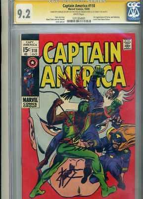 Captain America 118 CGC SS 9.2  (Falcon)