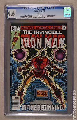 Iron Man (1st Series) #122 1979 CGC 9.6 1215105006