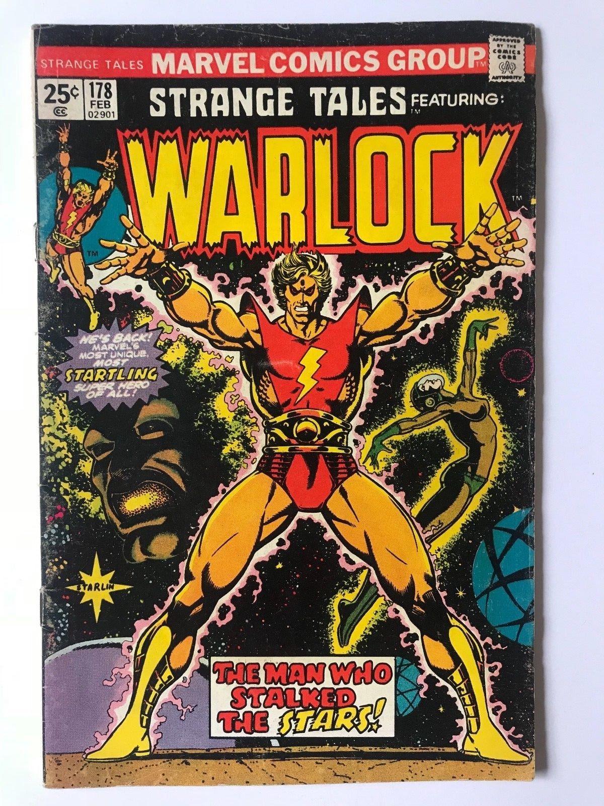 Strange Tales #178 Marvel Comics 1st Magus App. February 1975 'Reading Copy'