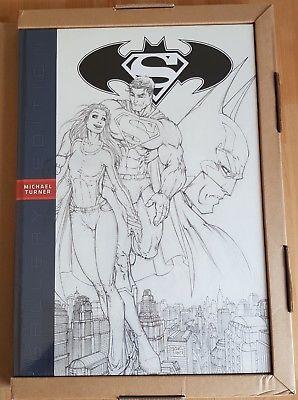Comic VO DC /Superman Batman _ Michael Turner Gallery Edition/ Oversized HC new