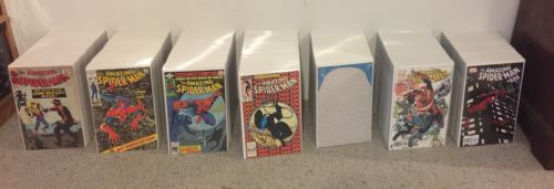 the amazing spider-man 1 - 800 1200 extras fantasy 15 lot run collection 18 Cgc
