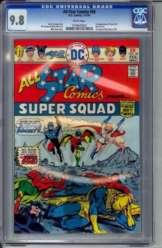 All-Star Comics #58 9.8 CGC Power Girl JSA Justice Society Flash Green Lantern