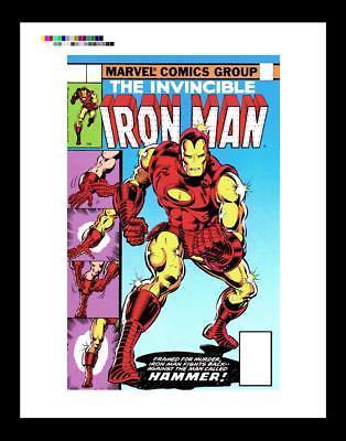 John Romita Jr. Iron Man #126 Rare Production Art Cover