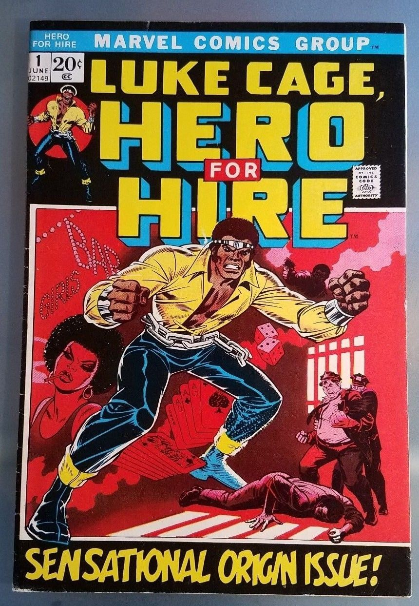 Luke Cage, Hero for Hire #1 (Jun 1972, Marvel) Origin Issue original owner