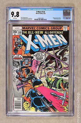 Uncanny X-Men (1st Series) #110 1978 CGC 9.8 1448412009