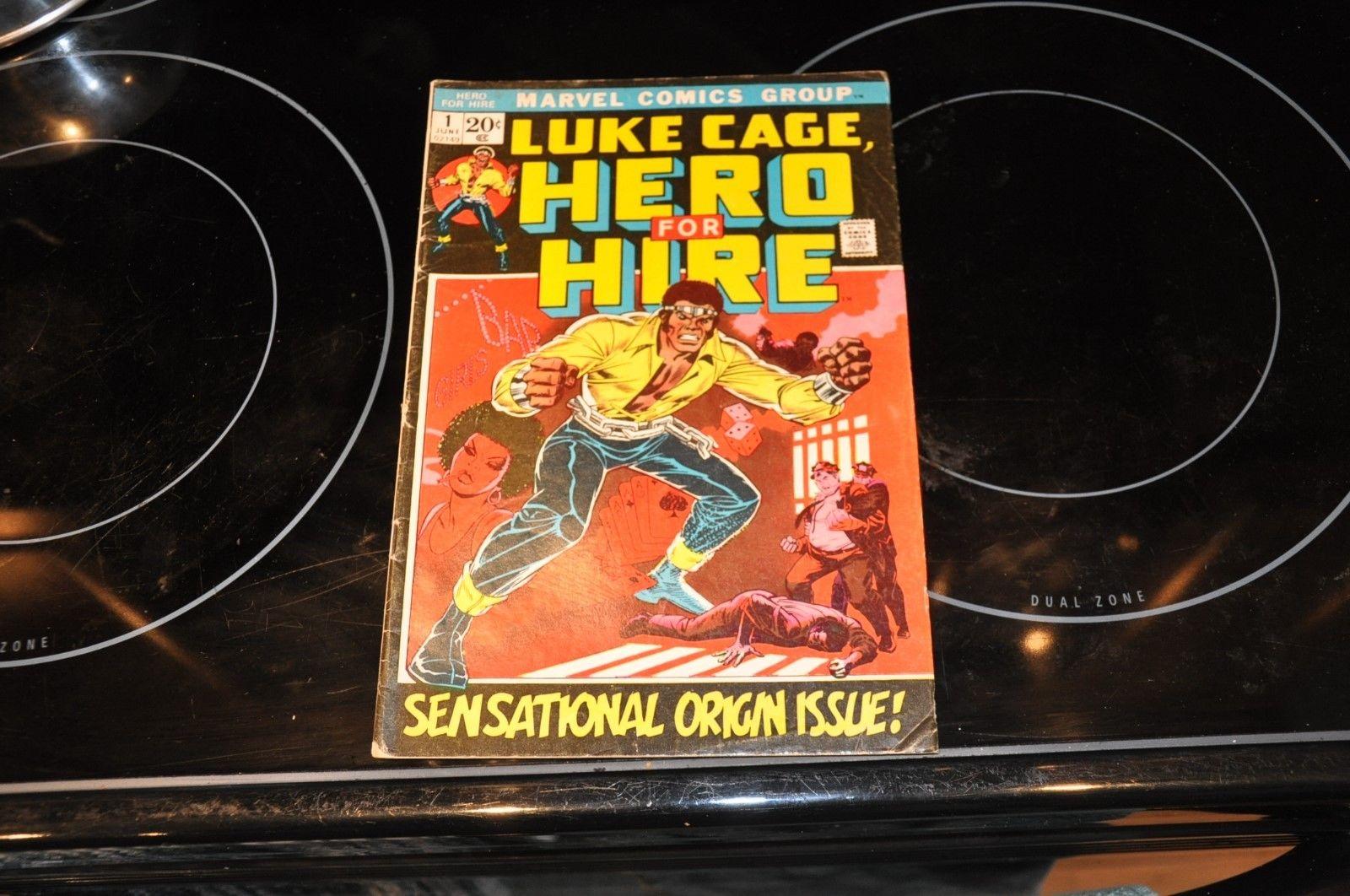 Luke Cage, Hero for Hire #1 (Jun 1972, Marvel)  Sensational origin issue VG