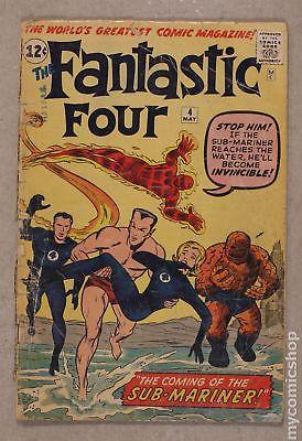 Fantastic Four (1st Series) #4 1962 FR 1.0