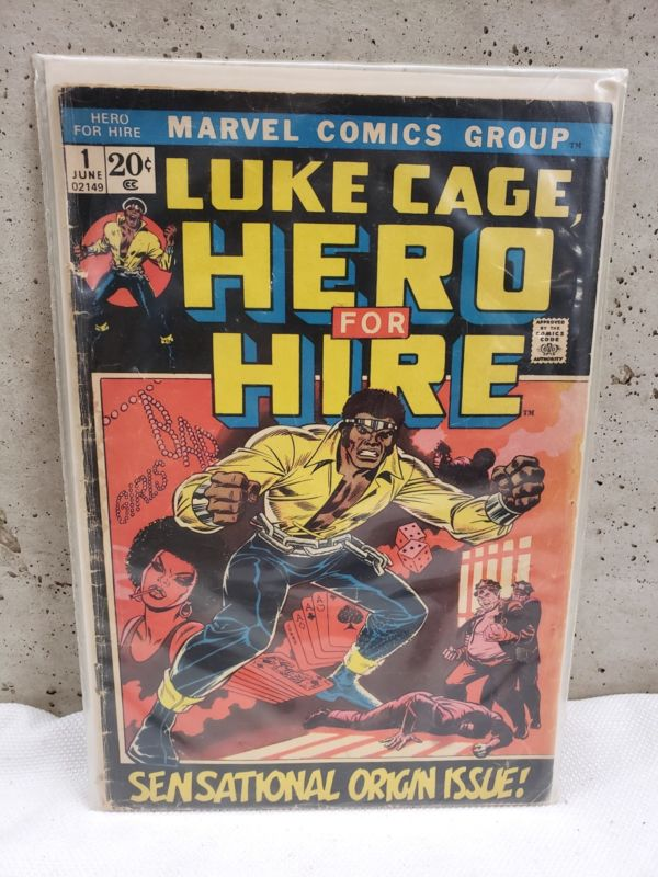 Luke Cage Hero For Hire No. 1 Marvel 1972 GD 1st Appearance Origin Issue