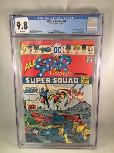 All-Star Comics #58 CGC 9.8 1st Power Girl - MAJOR KEY