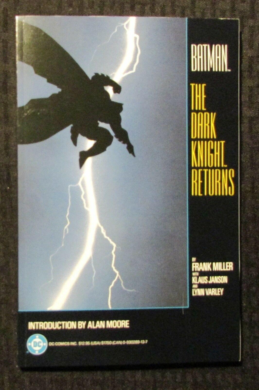 1986 BATMAN The Dark Knight Returns TPB 1st Printing VF- 7.5 Frank Miller