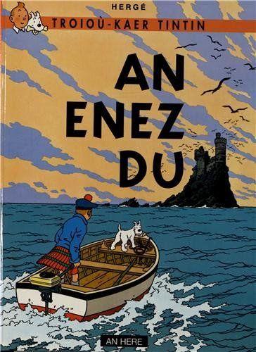 Tintin An enez du (L'île noire en breton) TBE An Here 2002 Hergé
