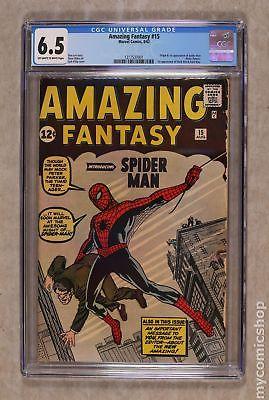 Amazing Fantasy #15 1962 CGC 6.5 1217537001