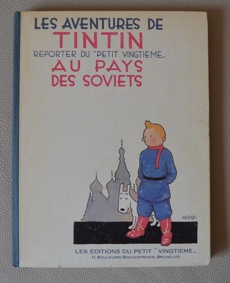 Tintin au Pays des Soviets 1er mille (1930) EO BE