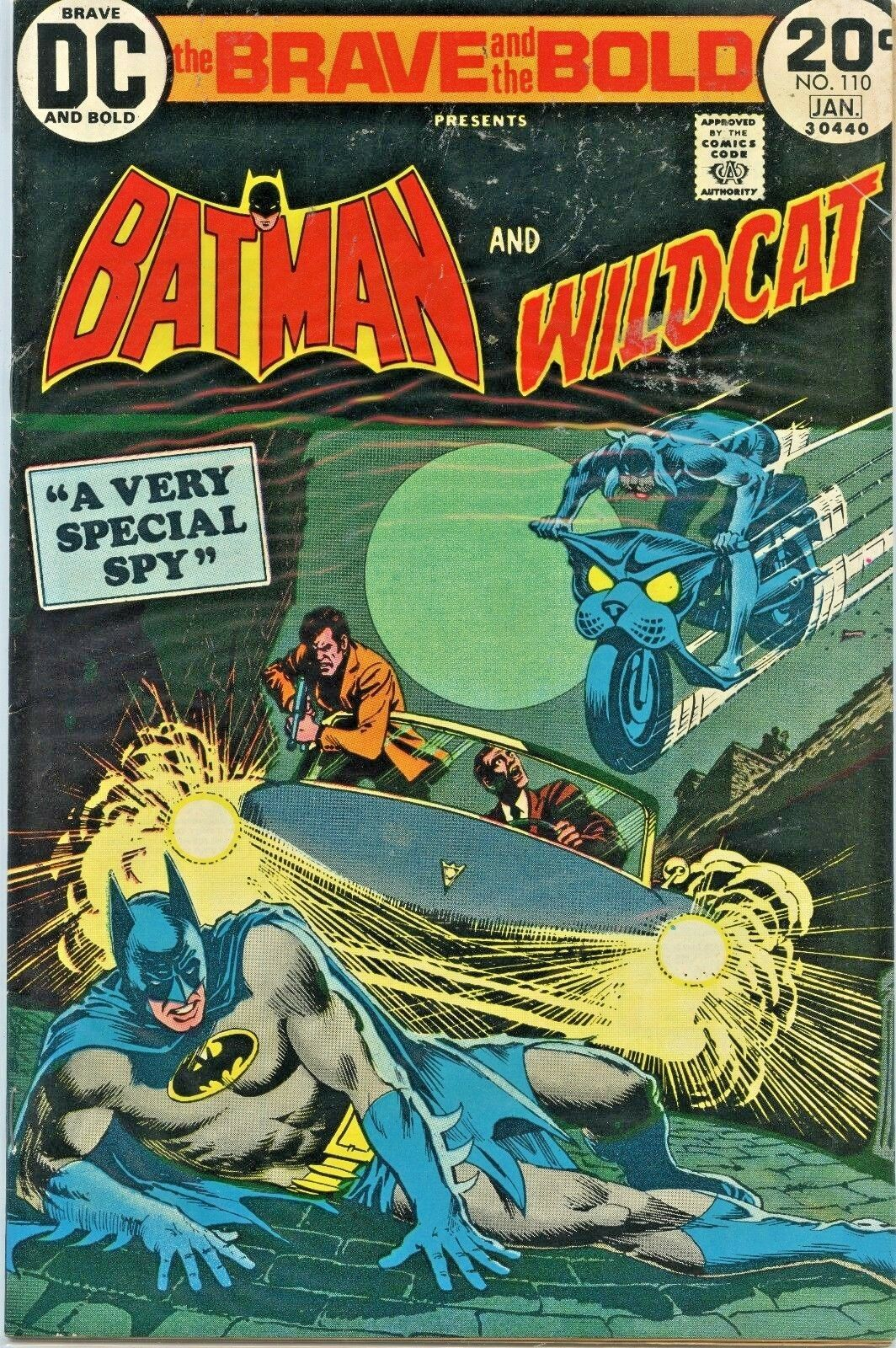 BRAVE AND THE BOLD # 110-120 LOT BATMAN JOKER METAL MEN AQUAMAN DR FATE DC