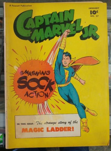 Captain Marvel Jr #57 January 1948