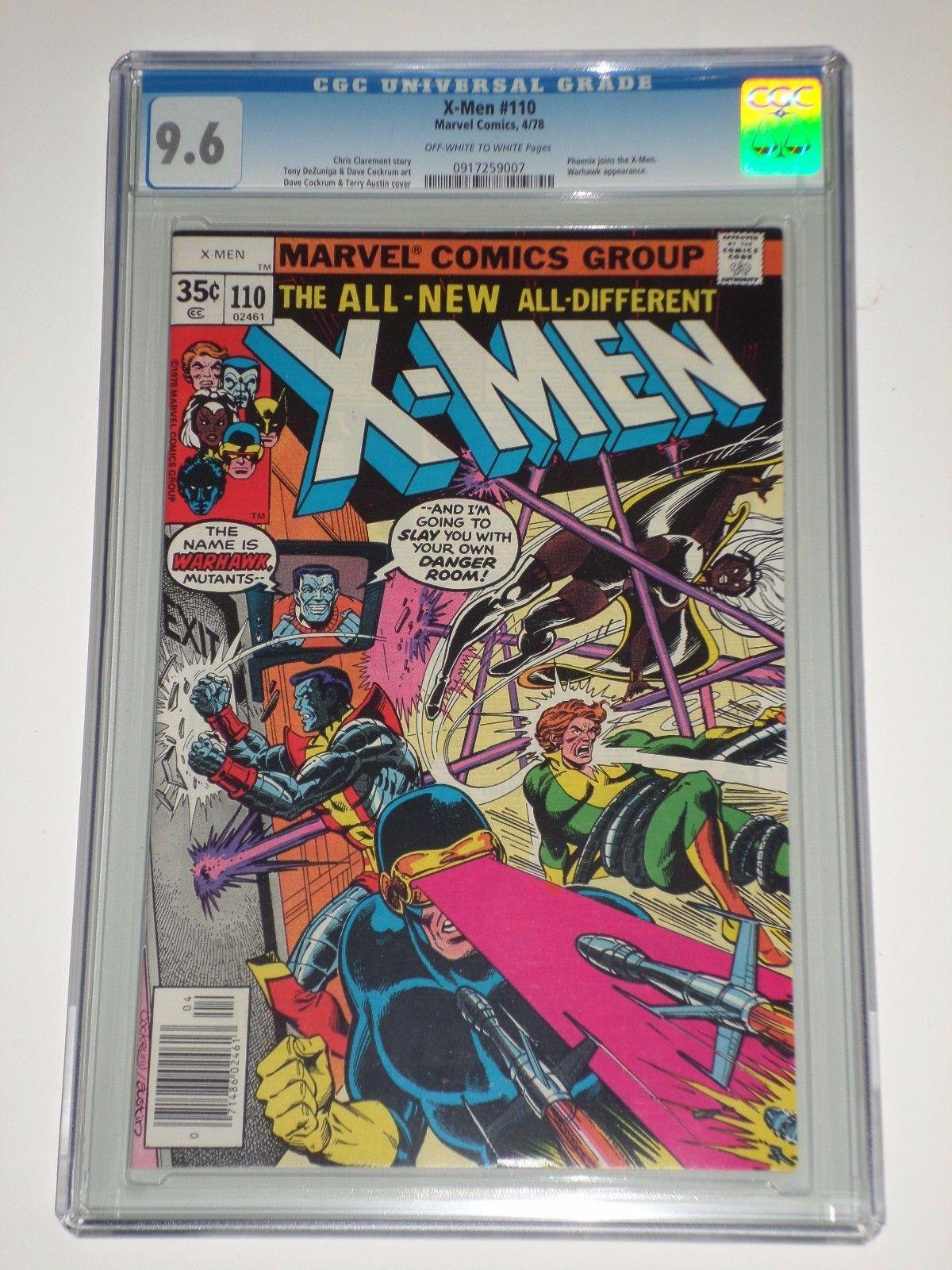 X-Men (Uncanny) 110 (Apr 1978, Marvel) CGC Graded 9.6