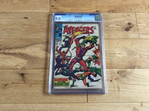 The Avengers 55 CGC 9.0