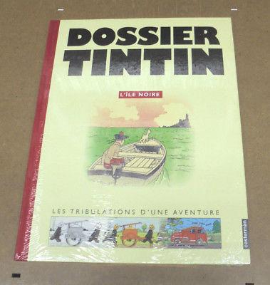HERGE - DOSSIER TINTIN - L'ILE NOIRE - TRIBULATIONS D'UNE AVENTURE (SS BLISTER)
