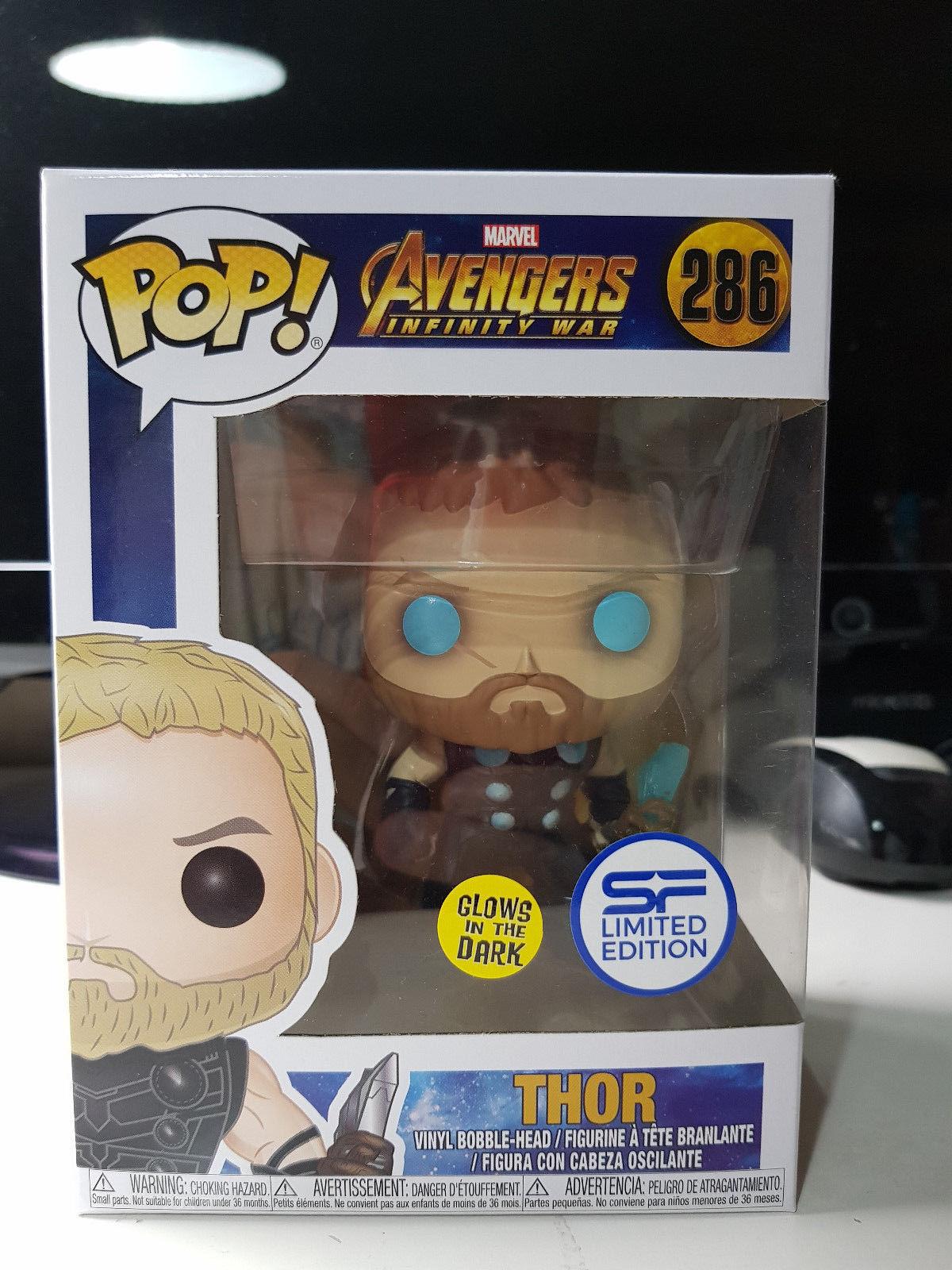 Marvel Avengers Infinity War Thor Funko POP No 286