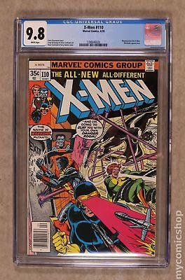 Uncanny X-Men (1st Series) #110 1978 CGC 9.8 1396846020