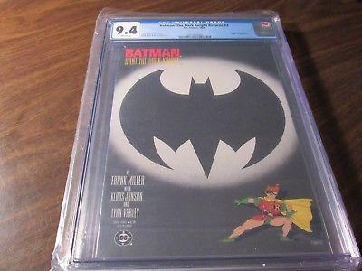 Batman the Dark Knight Returns #3 CGC 9.4 Graded Frank Miller Comic Book TPB
