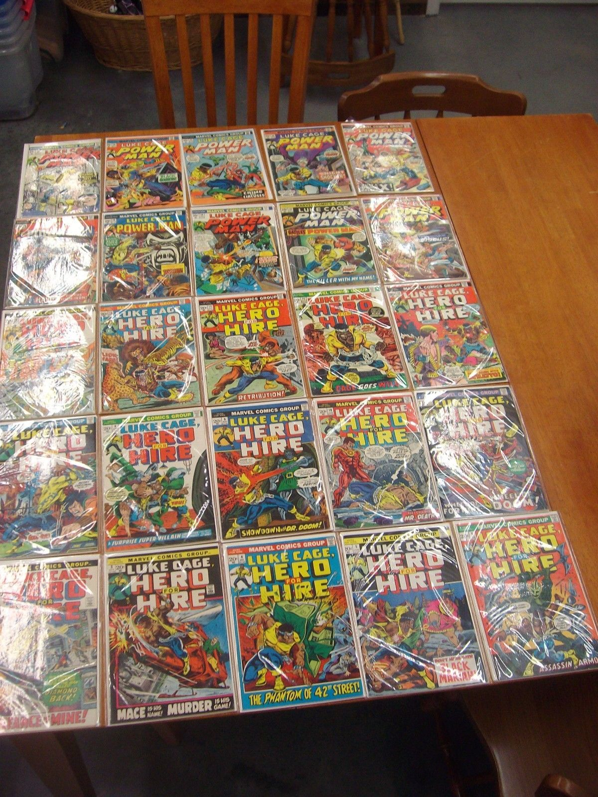 Marvel Luke Cage Hero For Hire/Power Man/Power Man and Iron Fist Lot of 122
