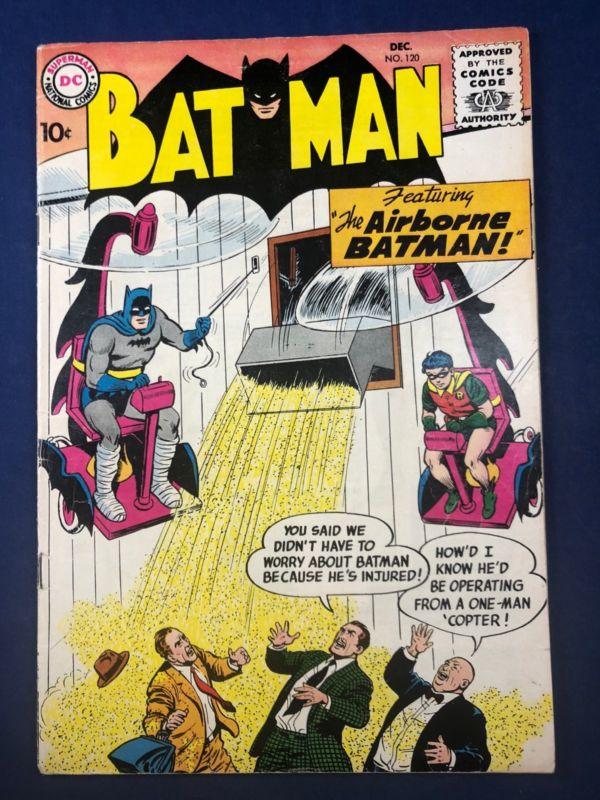 Batman #120 DC Comics Robin appearance Silver Age NO RESERVE