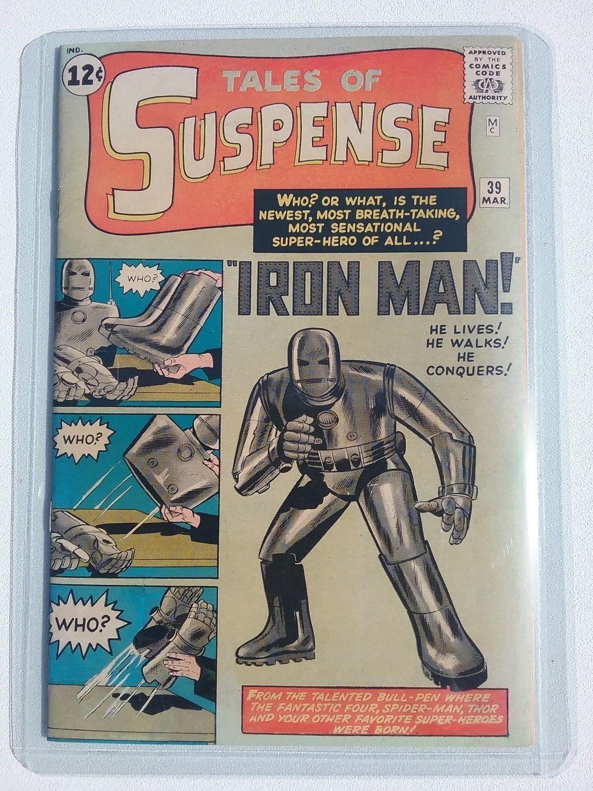 Tales of Suspense #39 8.0-9.0 Marvel 1st Iron Man