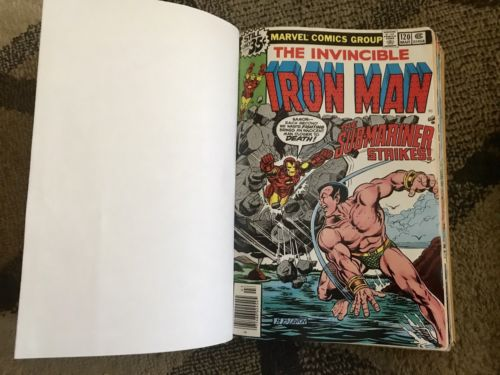 Iron Man 120-139 Thor 234-255 Bronze Age Marvel comic lot bound Volumes issues