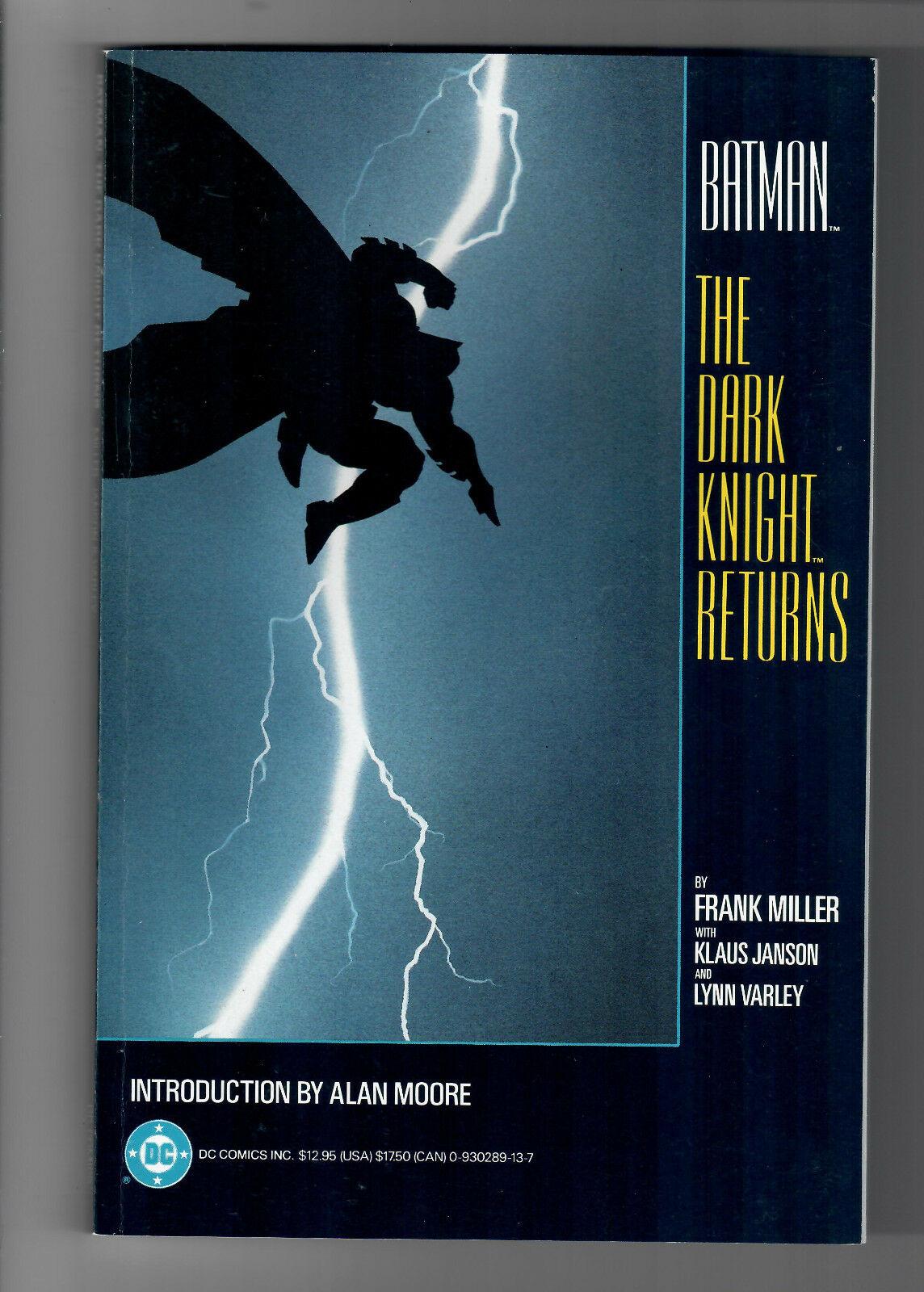 BATMAN: THE DARK KNIGHT RETURNS TPB - Grade NM - First Printing