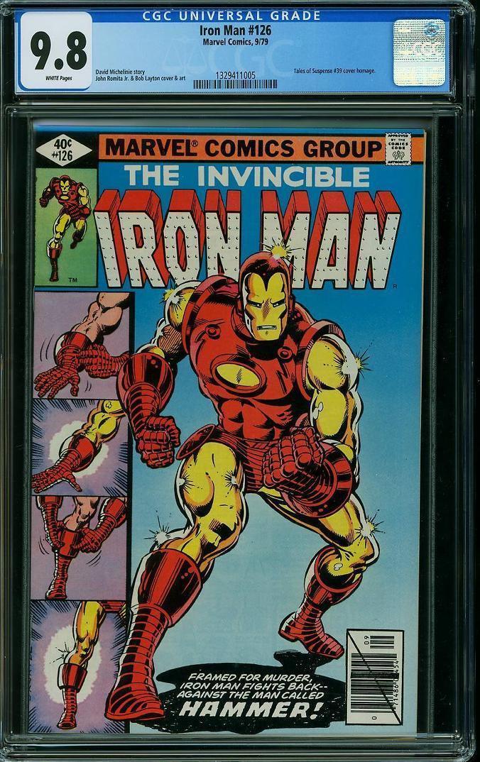 Iron Man #126 CGC 9.8