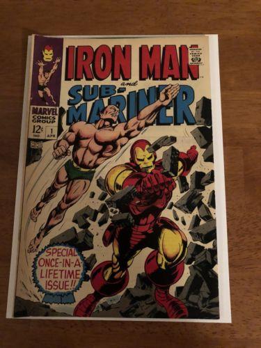 Iron Man & Sub-Mariner #1 (1968), Xover TOS 99/Iron Man 1/TTA 101/Sub Mariner 1