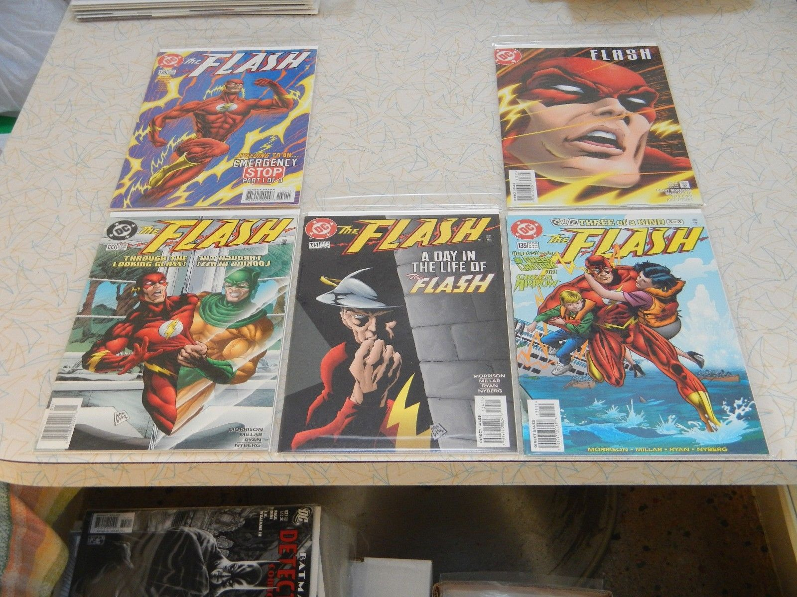 The Flash Vol. 2 #'s 130, 132-135, 137-141 (#138 included) by Morrison & Millar