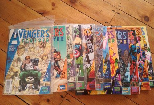 Marvel Comics Loft Find Avengers, Avengers Forever, Avengers Infinity