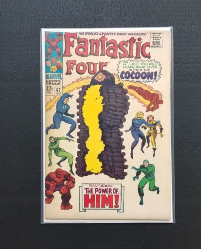 Fantastic Four #67 (1967, Marvel) First App Adam Warlock NM Silver Age Key