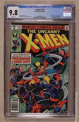 Uncanny X-Men (1st Series) #133 1980 CGC 9.8 1396795012
