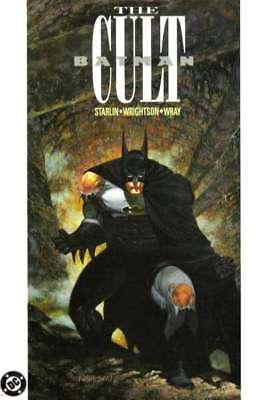 Batman: The Cult Trade Paperback #1 in Near Mint minus condition. DC comics
