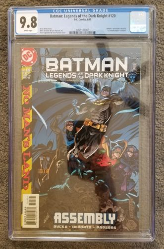 CGC 9.8 DC Comics BATMAN Legends of the Dark Knight #120 WP 1st New BATGIRL