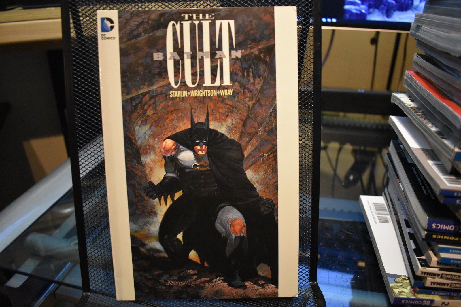 Batman The Cult DC Comics TPB Jim Starlin Bernie Wrightson Bill Wray
