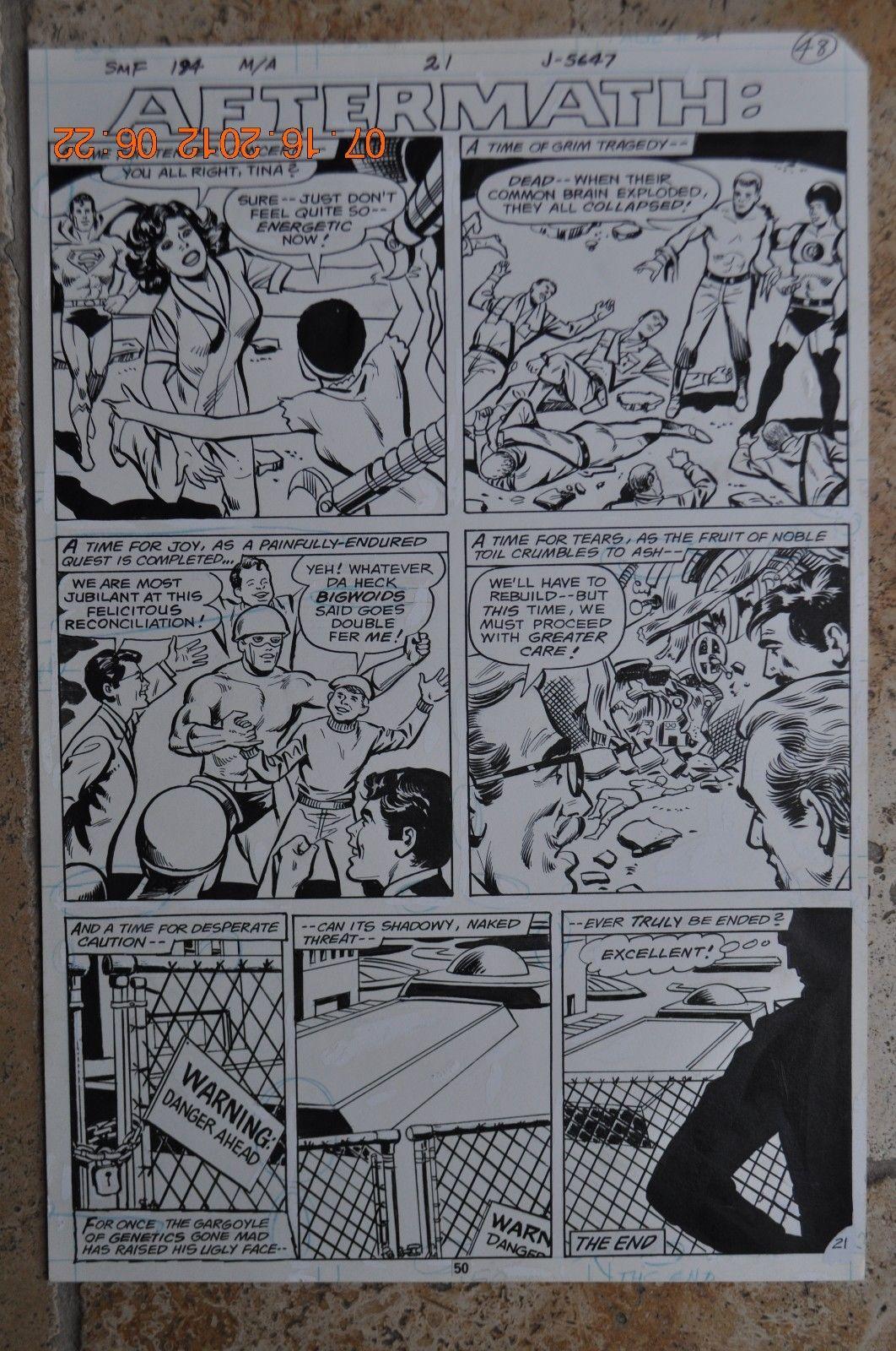 Superman Family #194, Pg #21,John Calnan/Vince Colletta, The Guardian, Lois Lane