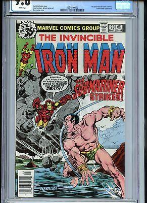 Iron Man #120 CGC 9.8 White Pages Sub-Mariner