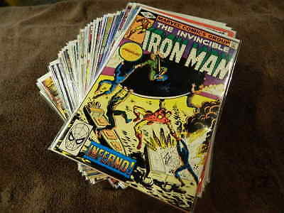 1968 MARVEL Comics IRON MAN #137-332 + Annuals # 12-14 Huge 50 Comic Lot - FN/NM
