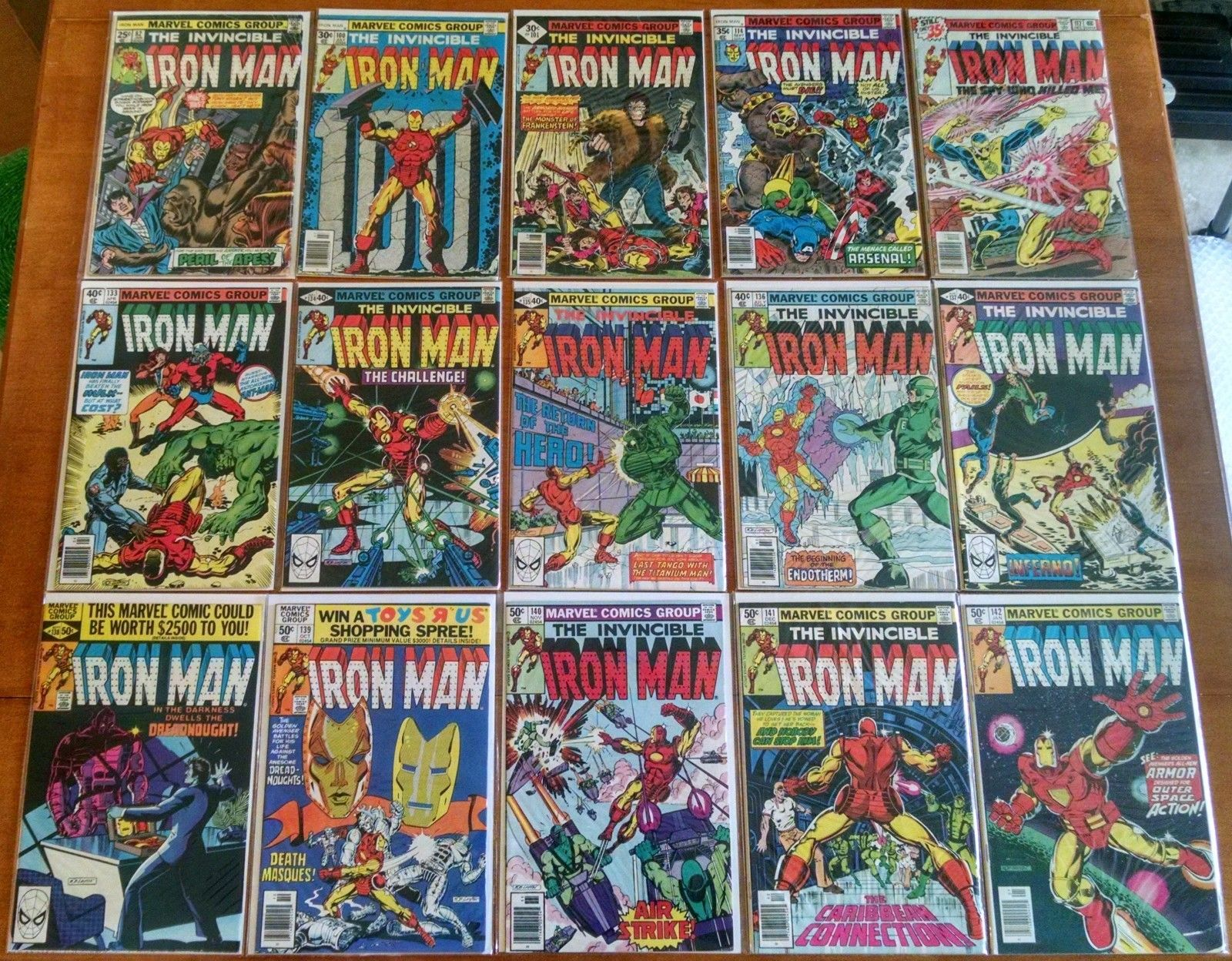 Iron Man (1968-1996) #100,101-150, 154-200,201-250,251-300 (155-Issue Set) 1-332