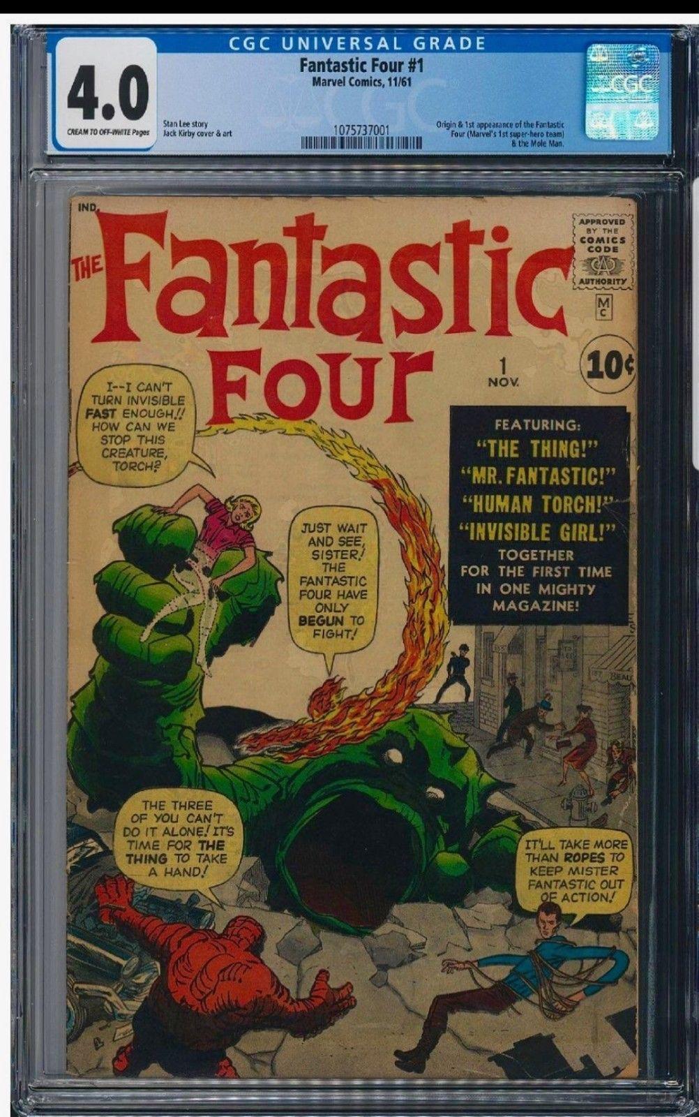 Fantastic Four #1 Cgc 4.0 Universal