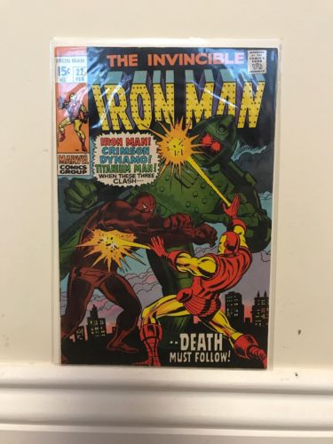 The Invincible Iron Man #22 Marvel Comics Silver Age